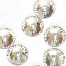 Pack of 12 Swarovski Sew-on Crystals in 2 shades